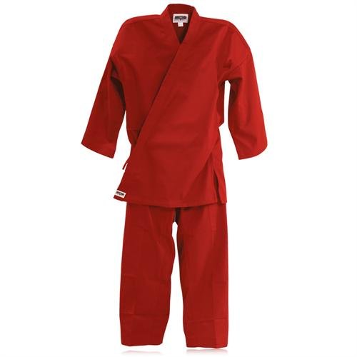 Macho 8.5oz Traditional Middleweight Gi (Red)